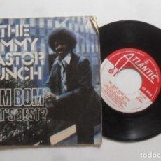 Discos de vinilo: SINGLE - THE JIMMY CASTOR BUNCH - A: BOM BOM - B: WHAT'S BEST? - ATLANTIC - 1976. Lote 277477778