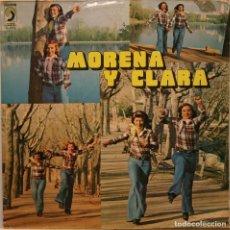 Discos de vinilo: MORENA Y CLARA LP DISCOPHON 1976. Lote 277493338