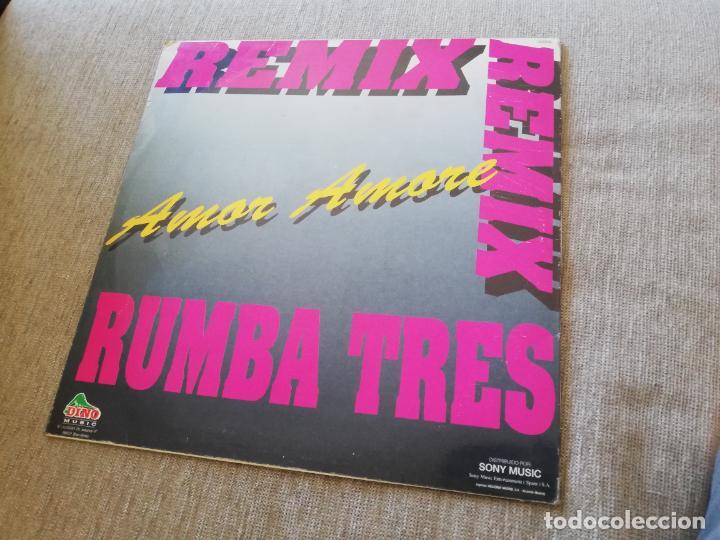 Discos de vinilo: Rumba tres - toca toca, la rumbamanía, amor amore. maxi - Foto 2 - 277493998