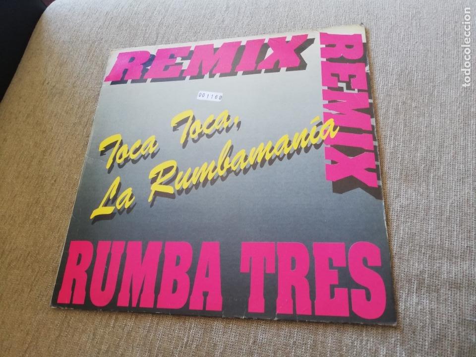 RUMBA TRES - TOCA TOCA, LA RUMBAMANÍA, AMOR AMORE. MAXI (Música - Discos de Vinilo - Maxi Singles - Grupos Españoles de los 90 a la actualidad)