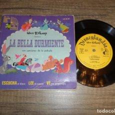Discos de vinilo: LA BELLA DURMIENTE / WALT DISNEY - DISCO CUENTO (MEXICO). Lote 277496253