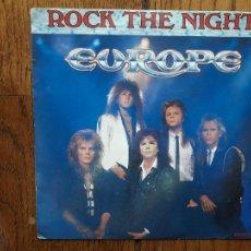 Discos de vinilo: EUROPE - ROCK THE NIGHT + SEVEN DOORS HOTEL. Lote 277497563