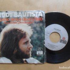Discos de vinilo: SINGLE - TEDDY BAUTISTA - A: EPISODIO EN 9X4 (ROCK'N ROLL) - B: HERMANO - ARIOLA - 1973. Lote 277497658