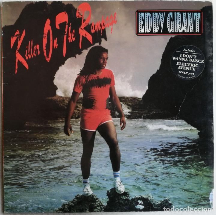 EDDY GRANT, KILLER ON THE RAMPAGE, ICE ICELP 3023, UK (Música - Discos - LP Vinilo - Reggae - Ska)
