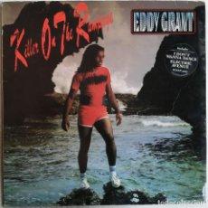 Discos de vinilo: EDDY GRANT, KILLER ON THE RAMPAGE, ICE ICELP 3023, UK. Lote 277500803