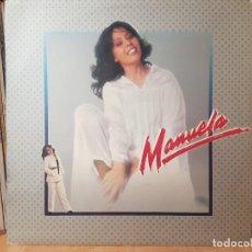 Discos de vinilo: *MANUELA - NO TE VAYAS DE MI VERA - LP AÑO 1980 - LEER DESCRIPCION. Lote 277502418