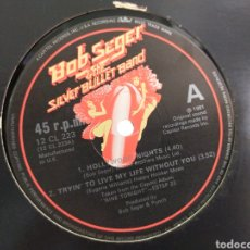 Discos de vinilo: BOB SEGER MAXI HOLLYWOOD NIGHTS + 2 U.K. 1981 EN PERFECTO ESTADO. Lote 277503163