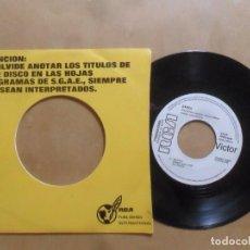 Discos de vinilo: SINGLE - ZARZA - A: BILBAO - B: ANA EN OTOÑO - RCA VICTOR - 1976. Lote 277504313