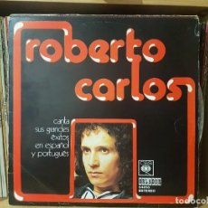 Discos de vinilo: *ROBERTO CARLOS - CANTA SUS GRANDES ÉXITOS EN ESPAÑOL Y PORTUGUÉS - LP AÑO 1974 -LEER DESCRIPCIÓN. Lote 277509858