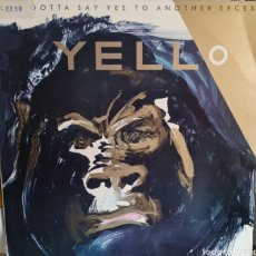 Discos de vinilo: LP - YELLO - YOU GOTTA SAY YES TO ANOTHER EXCESS - 1983 (PROMO). Lote 277510958