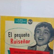 Discos de vinilo: JOSELITO EL PEQUEÑO RUISEÑOR EP. DE 6 CANCIONES. Lote 277513113