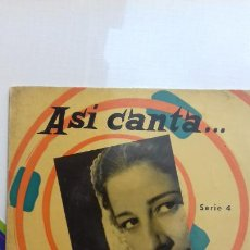 Discos de vinilo: CONCHITA PIQUER EP DE 4 CANCIONES. Lote 277515728