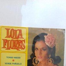 Discos de vinilo: LOLA FLORES EP DE 4 CANCIONES. Lote 277516668