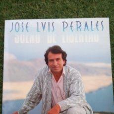 """Discos de vinilo: VINILO LP JOSE LUIS PERALES """" SUEÑOS DE LIBERTAD """". Lote 277527188"""