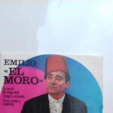Discos de vinilo: EMILIO EL MORO EP DE 4 CANCIONES. Lote 277537853