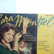 Discos de vinilo: SARA MONTIEL EP DE 4 CANCIONES. Lote 277538178