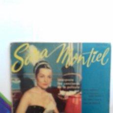 Discos de vinilo: SARA MONTIEL EP DE 4 CANCIONES. Lote 277538358
