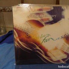 Discos de vinilo: TRIPLE LP ESTADO APABULLANTE Y CON LIBRETO PAUL MC CARTNEY TRIPPING THE LIFE FANTASTIC. Lote 277539663