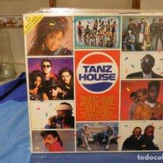 Discos de vinilo: DOBLE LP RECOPILATORIO TIPO FUNKY ALEMANIA CA 1990 MUY BUEN ESTADO TANZ HOUSE VER ARTISTAS EN TAPA. Lote 277539818