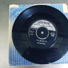Disques de vinyle: THE COASTERS-SINGLE POISON IVY-SIN FUNDA. Lote 277542218