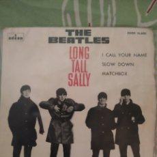 Discos de vinilo: THE BEATLES LONG TALL SALLY+3,. EP. Lote 277546138