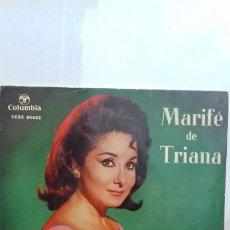 Discos de vinilo: MARIFE DE TRIANA DISCO 2 CANCIONES. Lote 277551408