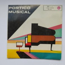Discos de vinilo: PORTICO MUSICAL / DISCOTECA DE SELECCIONES. EP. TDKDS21. Lote 277556753