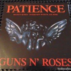 Discos de vinilo: GUNS N' ROSES – PATIENCE - MAXISINGLE 1989. Lote 277065343