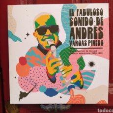 Discos de vinilo: ANDRÉS VARGAS PINEDO–EL FABULOSO SONIDO DE ANDRÉS VARGAS PINEDO: UNA COLECCIÓN DE MÚSICA POPULAR. Lote 277563958