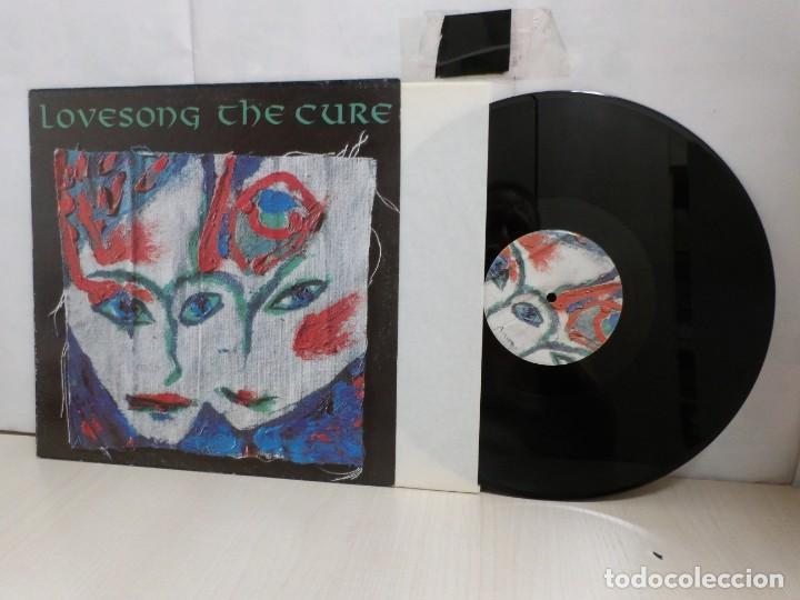 THE CURE LOVESONG--1989--MADRID--FICTION RECORDS- (Música - Discos de Vinilo - Maxi Singles - Pop - Rock Internacional de los 70)