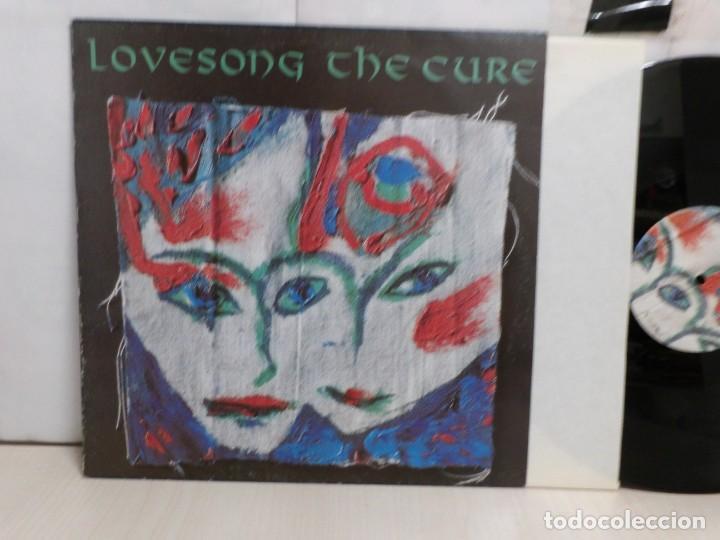 Discos de vinilo: THE CURE LOVESONG--1989--MADRID--FICTION RECORDS- - Foto 2 - 277566053
