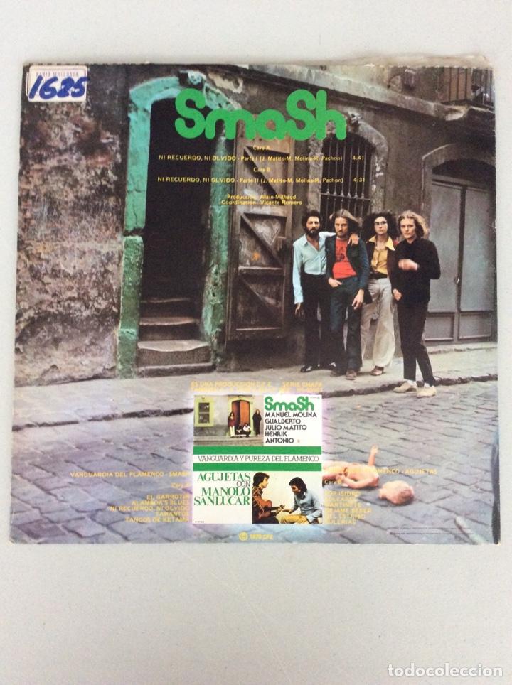 Discos de vinilo: Smash. Ni recuerdo, ni olvido. Partes 1 y 2. - Foto 2 - 277567468