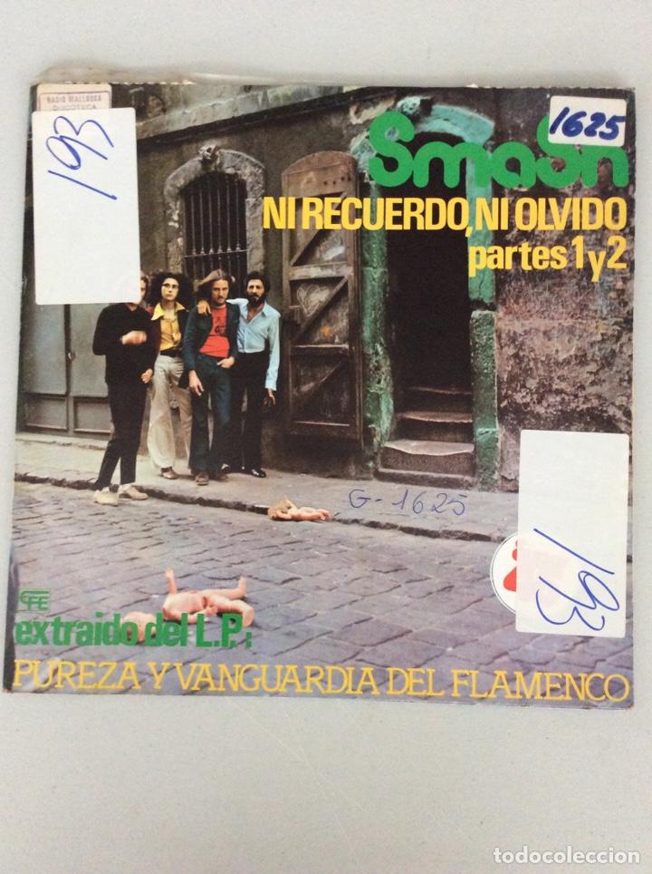 SMASH. NI RECUERDO, NI OLVIDO. PARTES 1 Y 2. (Música - Discos de Vinilo - Maxi Singles - Flamenco, Canción española y Cuplé)