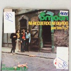 Discos de vinilo: SMASH. NI RECUERDO, NI OLVIDO. PARTES 1 Y 2.. Lote 277567468