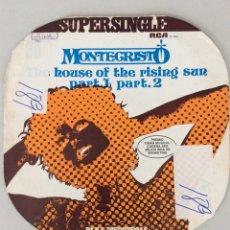 Discos de vinilo: MONTECRISTO. THE HOUSE OF THE RISING SUN PART 1 PART 2. Lote 277568633