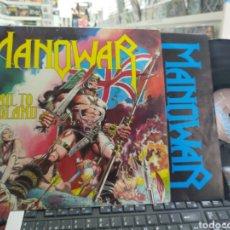 Discos de vinilo: MANOWAR LP HAIL TO ENGLAND U.K. 1984. Lote 277573258