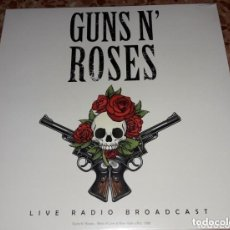 Discos de vinilo: GUNS N ROSES LIVE RADIO BROADCAST - EDICION VINILO A ESTRENAR. Lote 277575833
