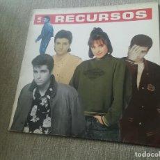Discos de vinilo: SIN RECURSOS-LP. Lote 277576278