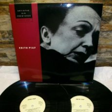 Discos de vinilo: EDITH PIAF ANTOLOGIA DE 1992 EDICION SERIE ORO VINYL DOBLE LP. Lote 277585238