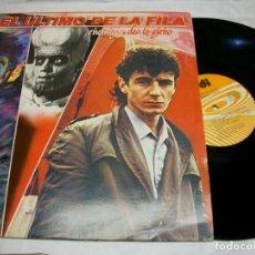 Discos de vinilo: EL ULTIMO DE LA FILA ENEMIGOS DE LO AJENO VINYL LP. Lote 277585958