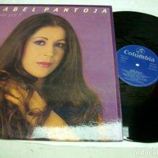 Discos de vinilo: ISABEL PANTOJA CAMBIAR POR TI LP. Lote 277588768