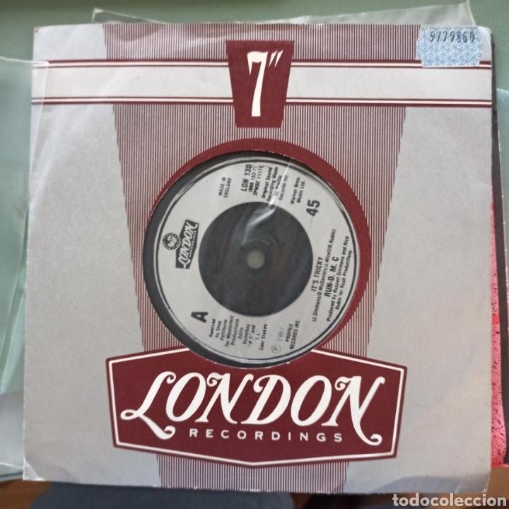 RUN-D.M.C. - IT'S TRICKY (LONDON RECORDS, UK, 1987) (Música - Discos - Singles Vinilo - Rap / Hip Hop)