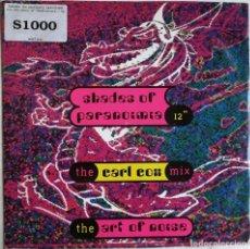 Discos de vinilo: THE ART OF NOISE, SHADES OF PARANOIMIA (THE CARL COX MIX), CHINA RECORDS WOKT 2014, WOKT 2014. Lote 277610613