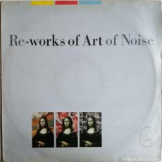 Discos de vinilo: THE ART OF NOISE, IN VISIBLE SILENCE RE-WORKS OF ART OF NOISE. Lote 277612018