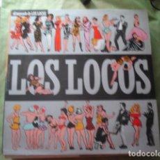 Discos de vinilo: LOS LOCOS EL SEGUNDO DE LOS LOCOS. Lote 277621203