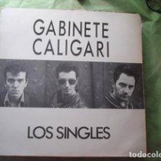 Discos de vinilo: GABINETE CALIGARI  LOS SINGLES. Lote 277623918