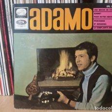 Discos de vinilo: *ADAMO - UNE MECHE DE CHEVEUX / PRINCESSES ET BERGERES + 2 - EP AÑO 1966 - LEER DESCRIPCIÓN. Lote 277623988