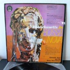 Discos de vinilo: KÔNOSUKE SAIJÔ AND MASSACHUSETTS IN BOSSA NOVA. GRANADA. 1970. ESP. JAZZ- BOSSA NOVA.. Lote 277624883