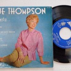Discos de vinilo: SUE THOMPSON - CANTA... - EP HICKORY HISPAVOX 1962 // TEENER ROCKABILLY 7'' DISCO DE VINILO. Lote 277626743