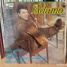 Discos de vinilo: *ADAMO - NOTRE ROMAN + 3 - EP AÑO 1967 - LEER DESCRIPCIÓN. Lote 277626958